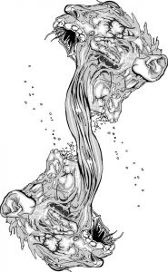 """Grey Flesh 5"" by Joe Turek"