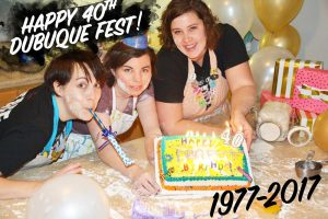 40th dfest cake